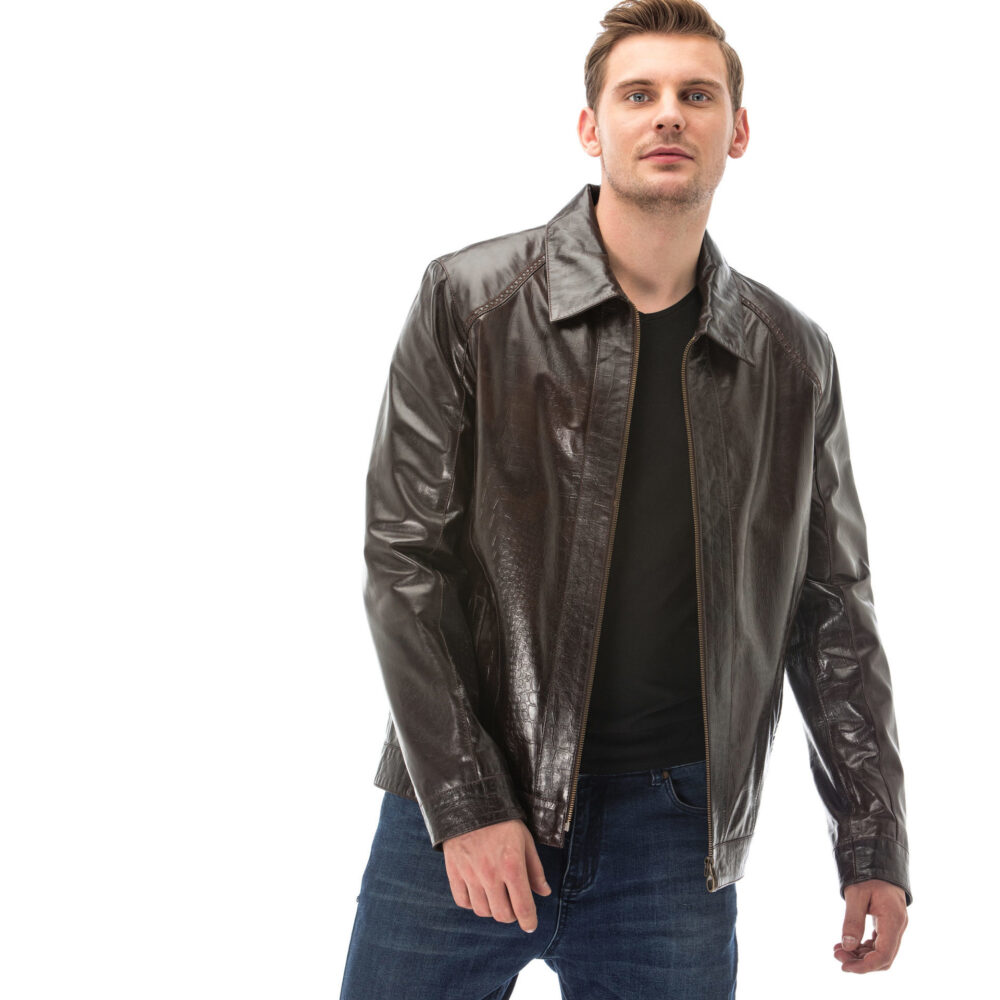 Dunhill Black Leather Jacket