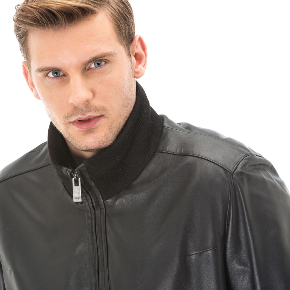 Dunhill Mens Leather Jacket