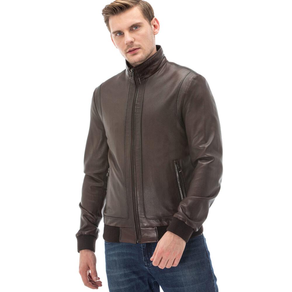 Acne Studios Leather Jacket Mens