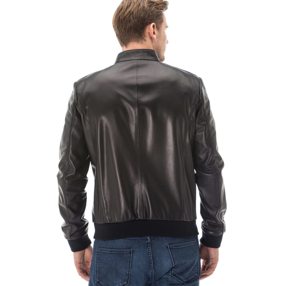 Loewe Leather Jacket Mens
