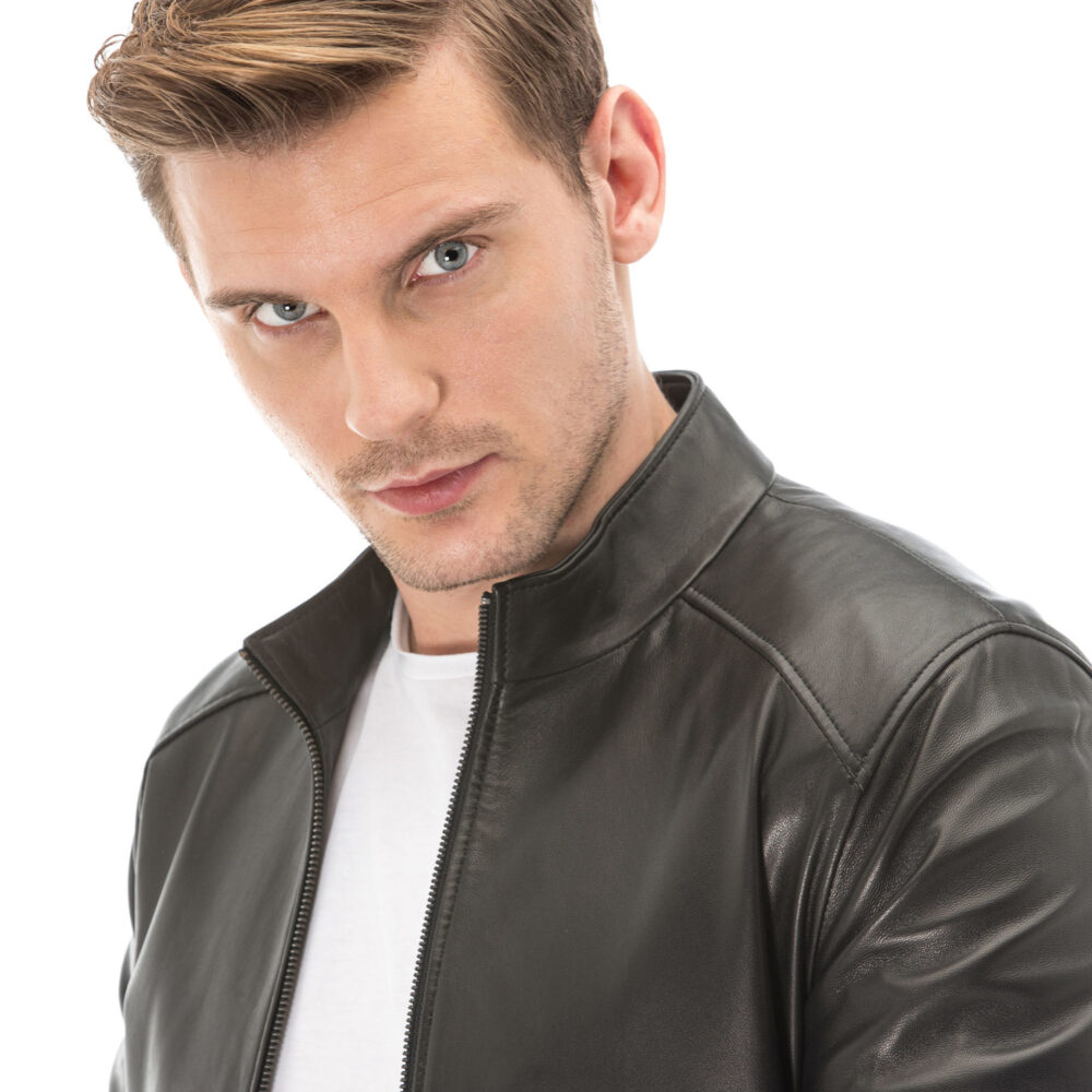 Real Leather Jacket On Sale