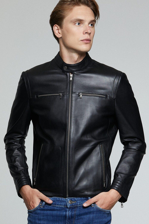 Schott Nyc Biker Leather Jacket