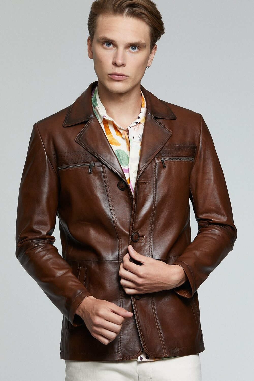 Rowan Row Leather Jacket