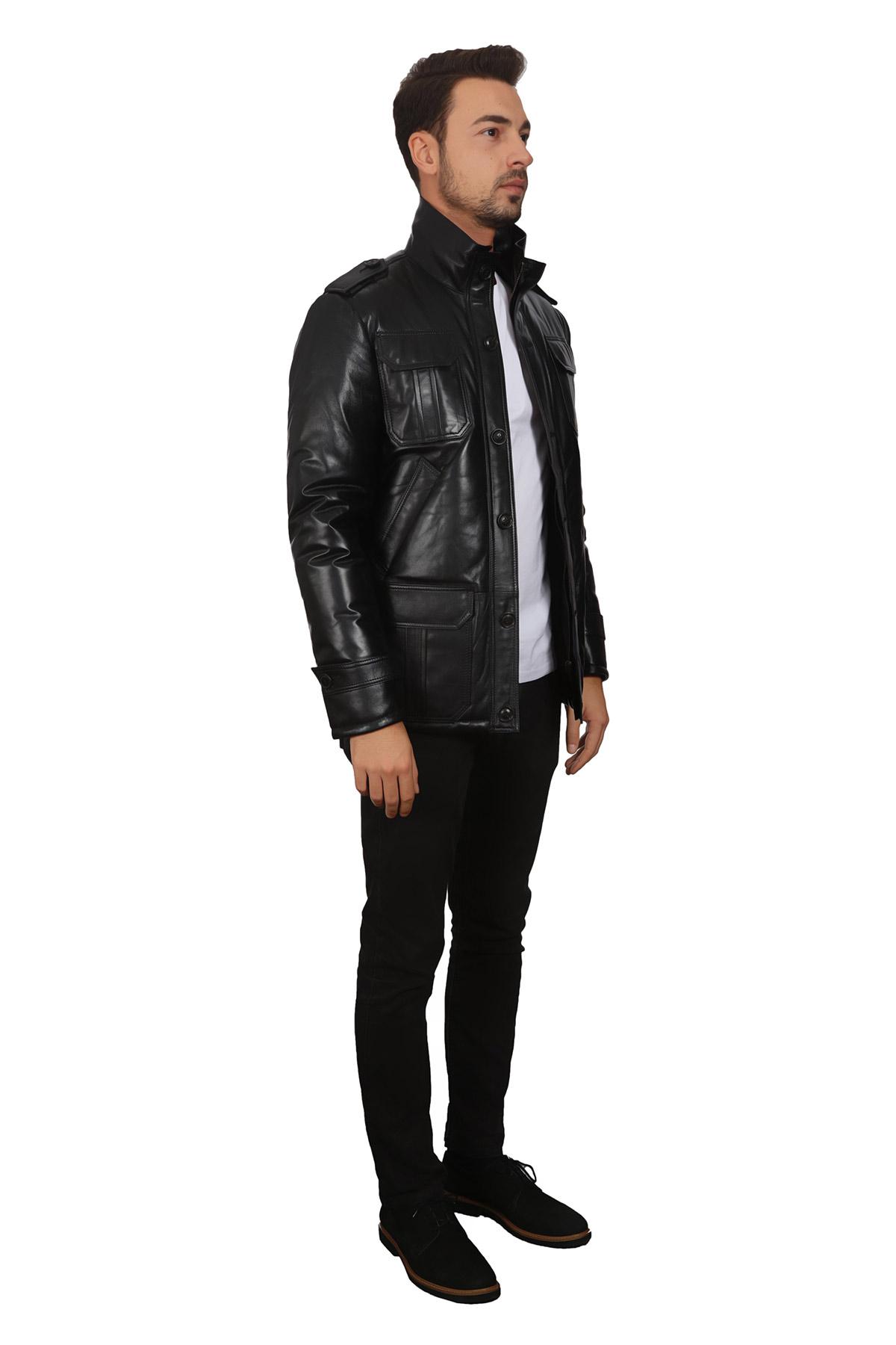 Clubmonaco Mens Leather Jacket