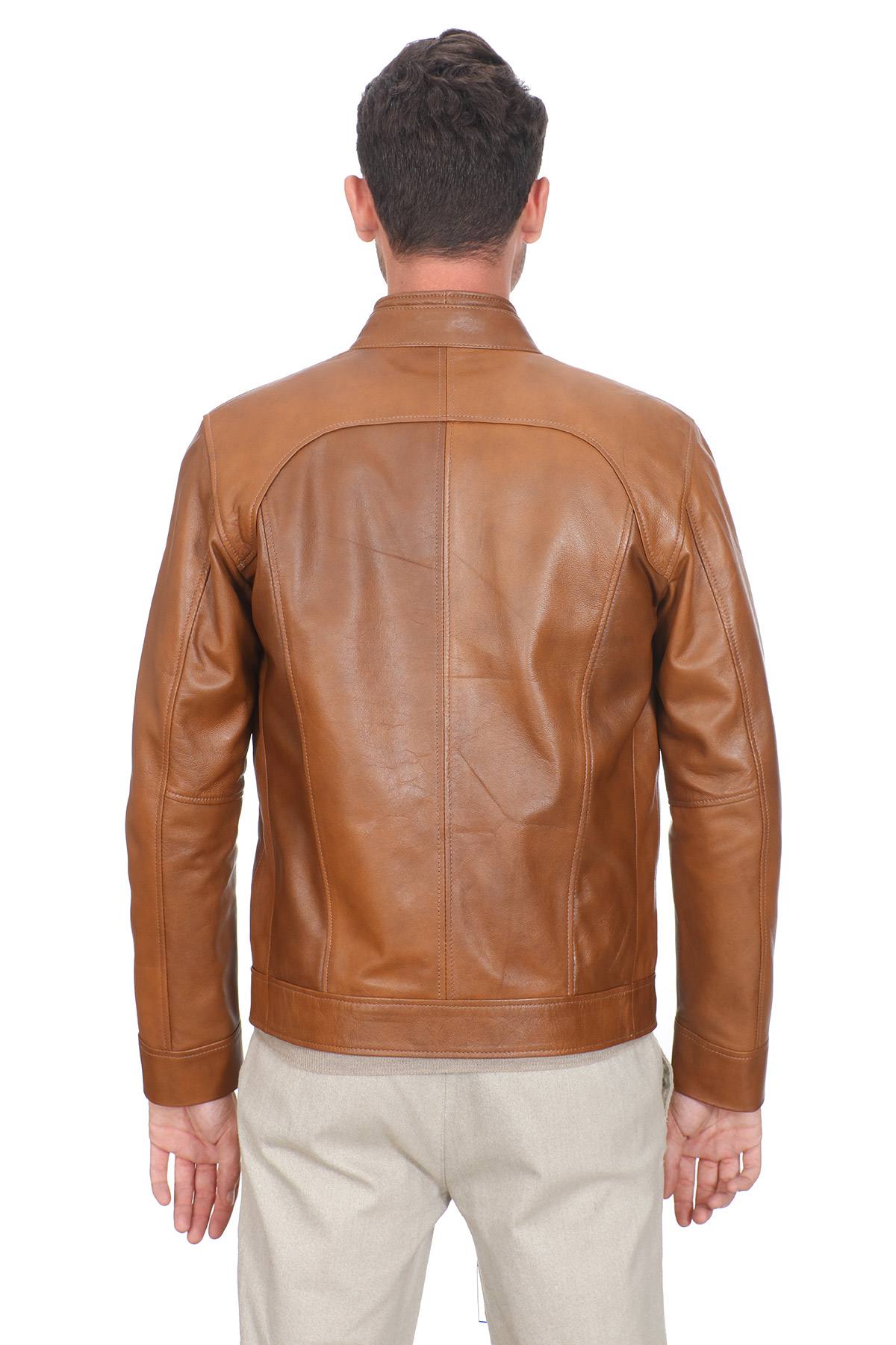 Gap Mens Leather Jackets
