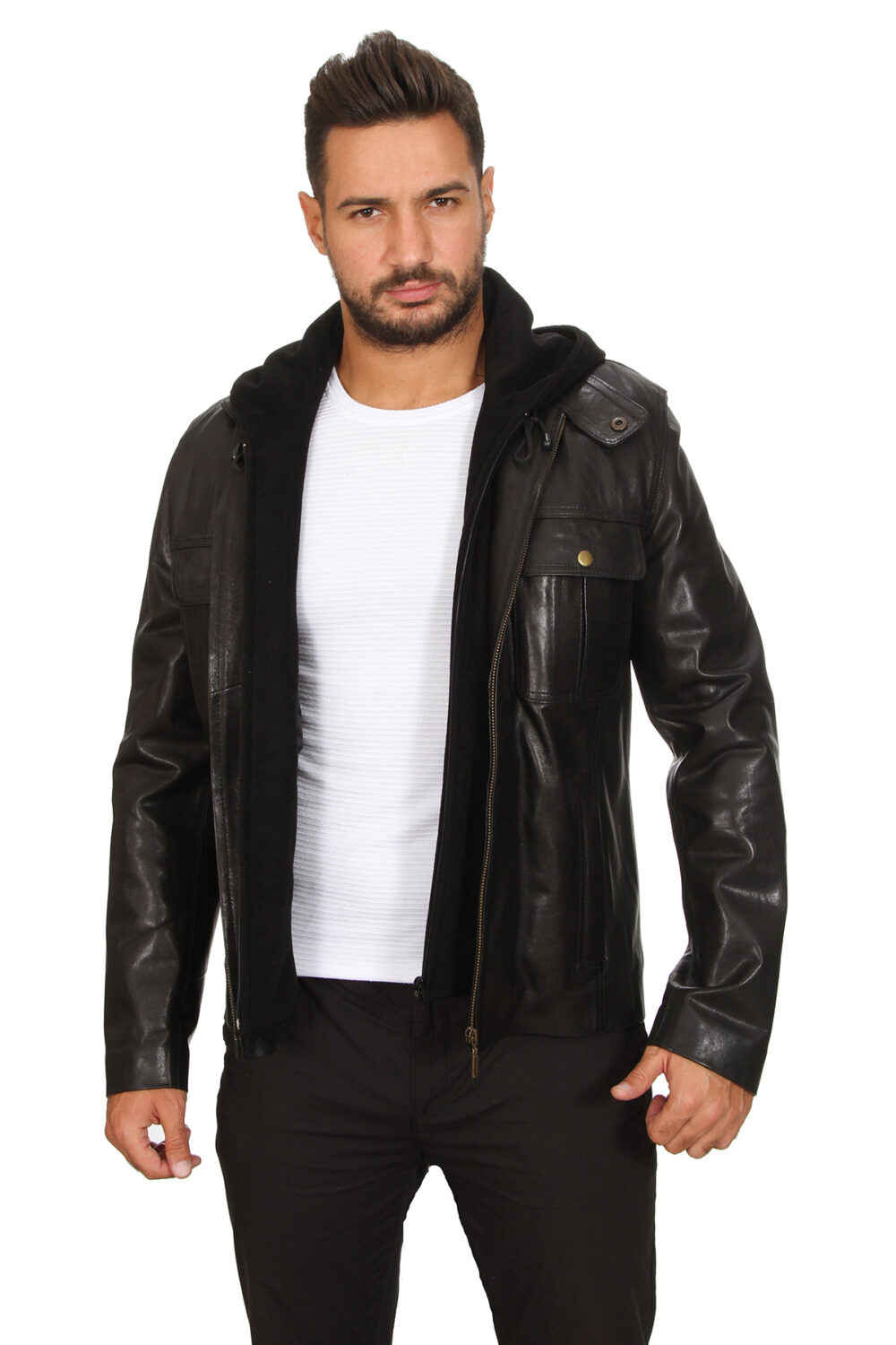 Cheap Leather Jackets Mens