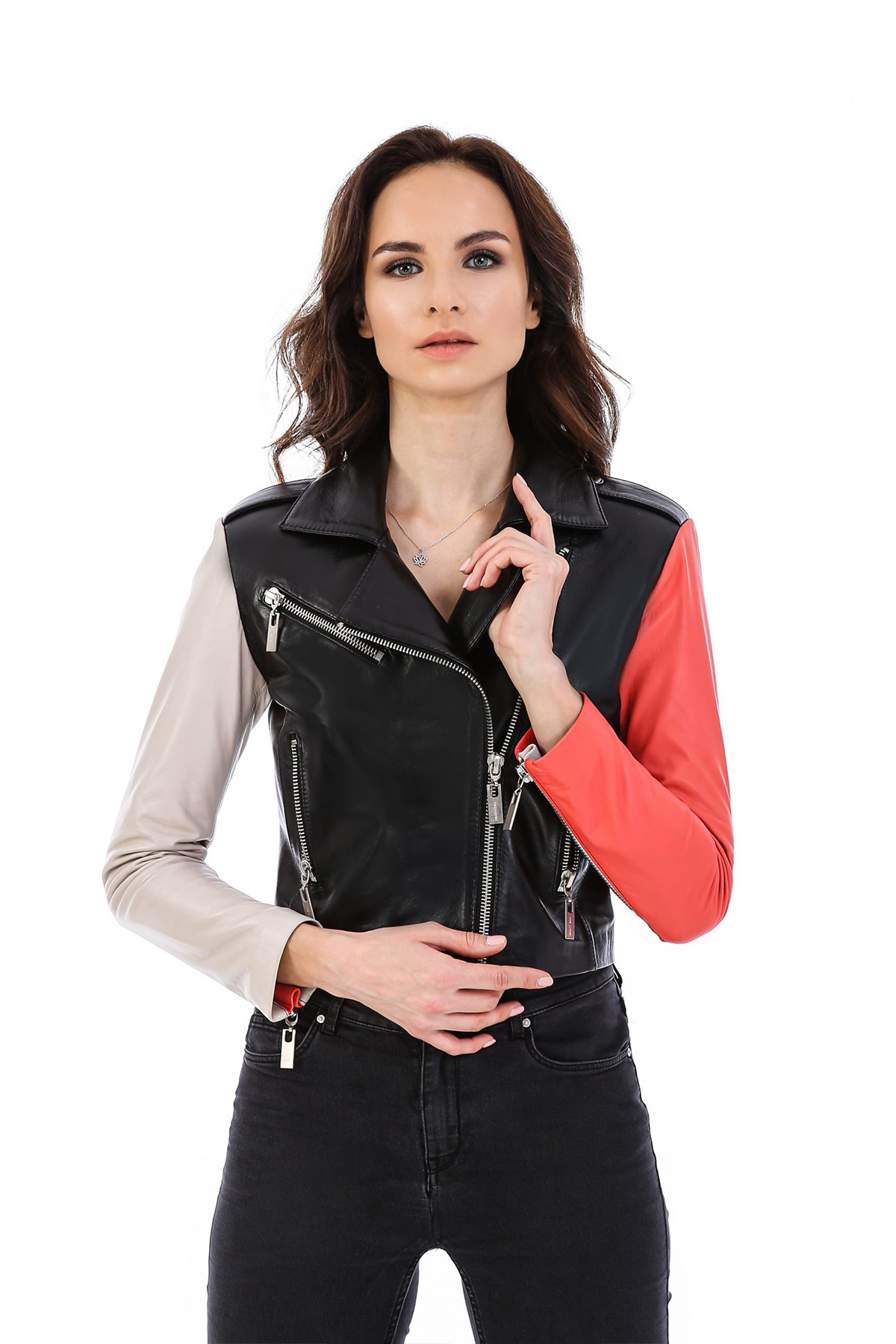 Jackets Leather Womens