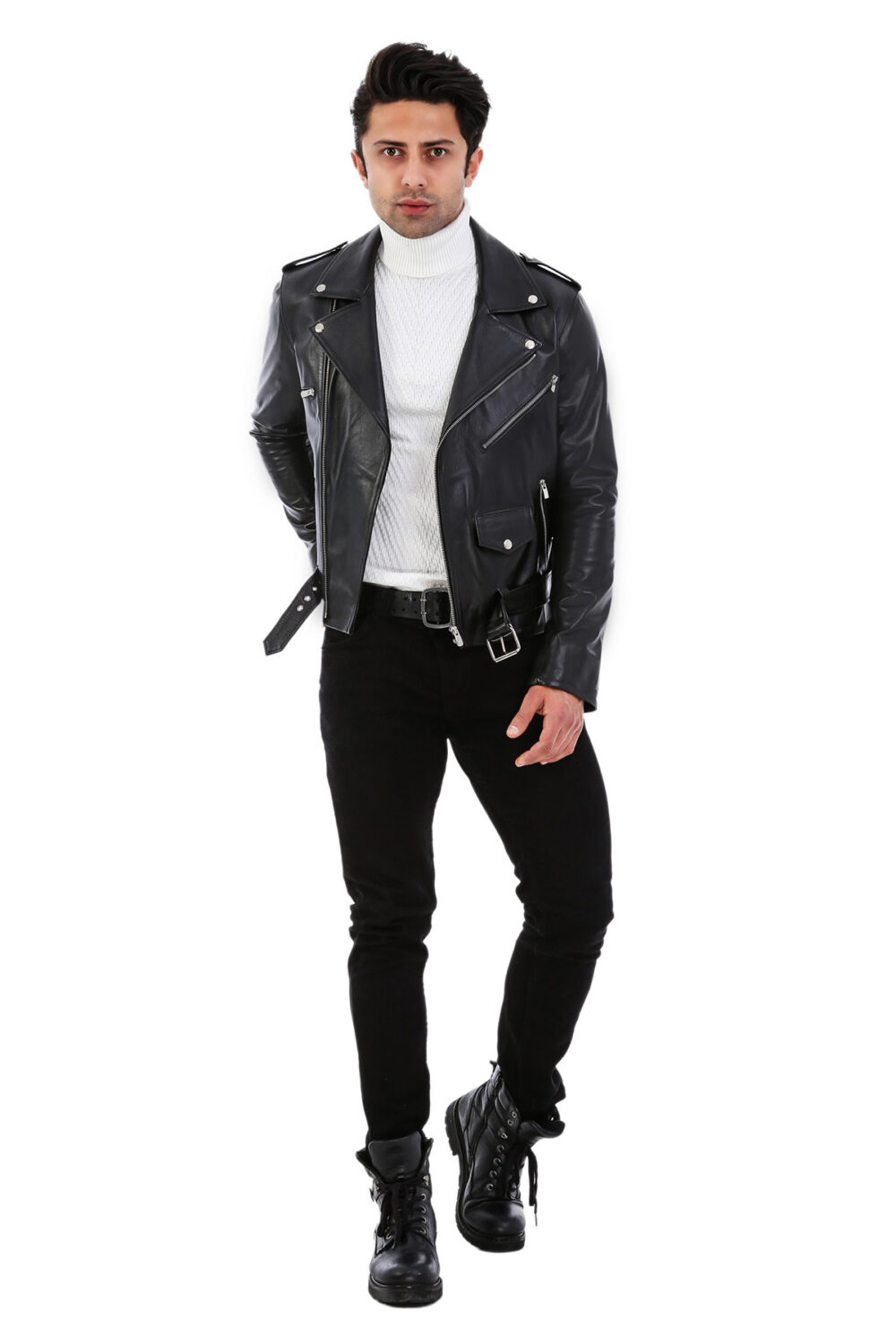 Asos Leather Jacket For Mens