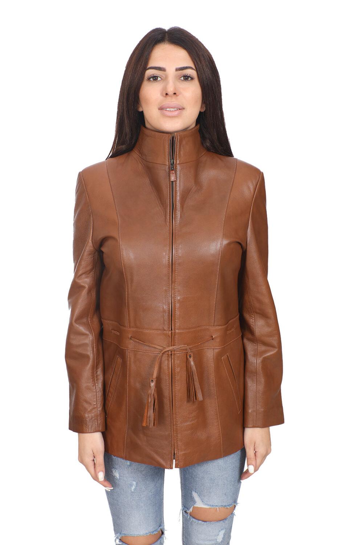 Nordstrom Leather Jacket Brown