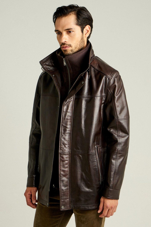 Brown Jacket Male