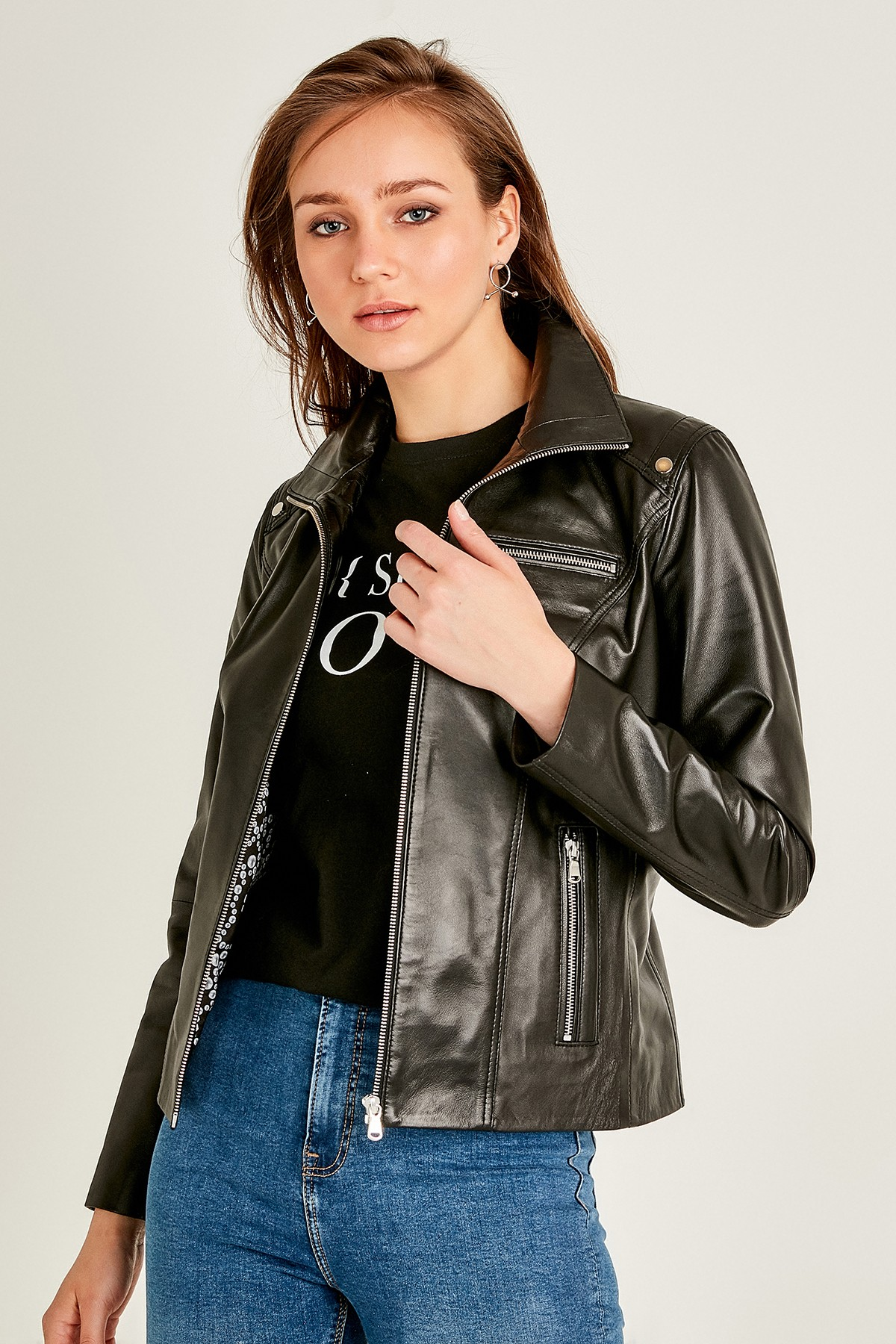 Womens Leather Apparel