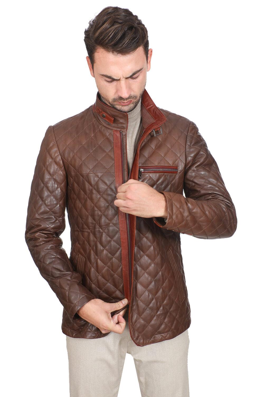 Uniqlo Mens Leather Jacket