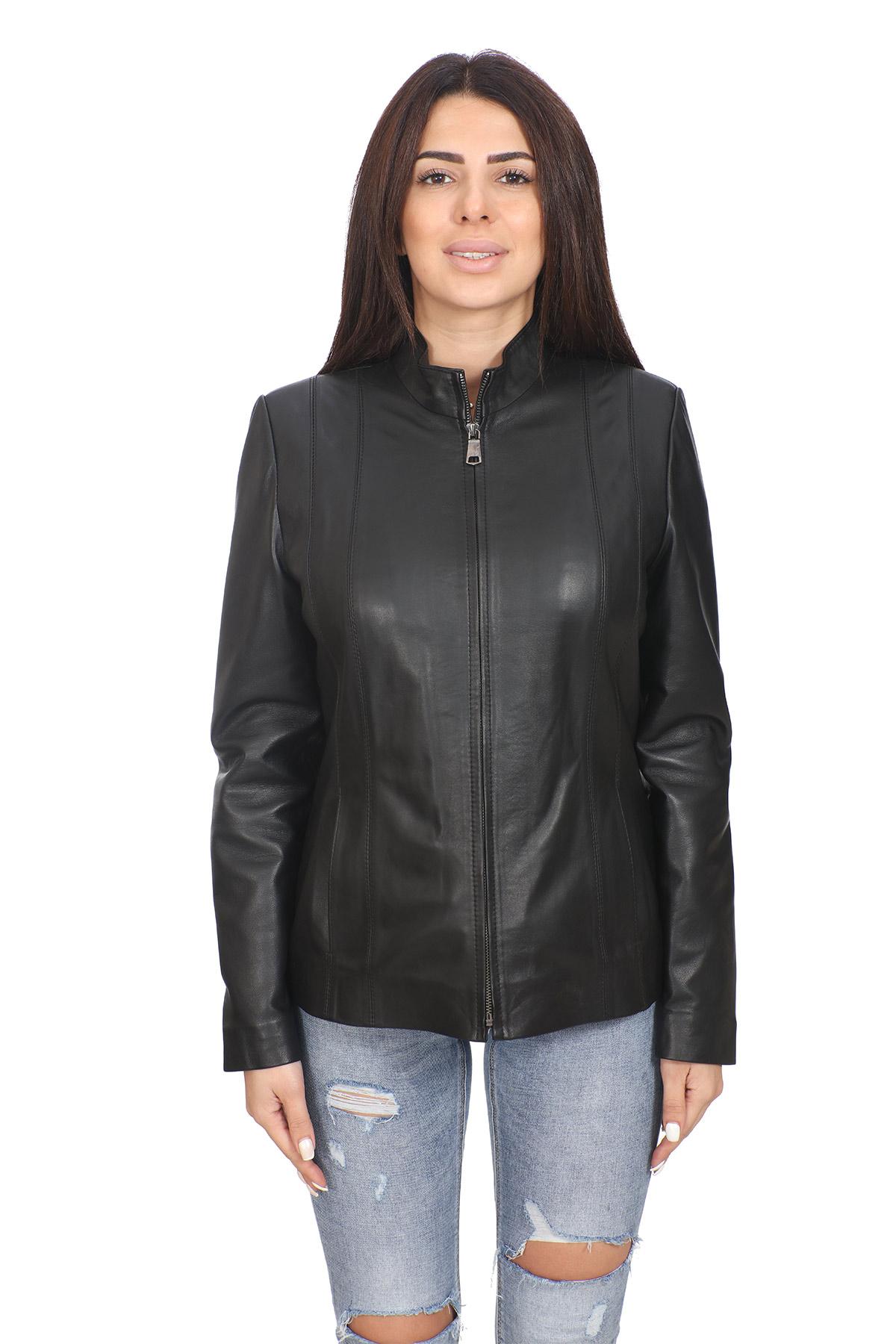 Fendi Black Leather Jacket