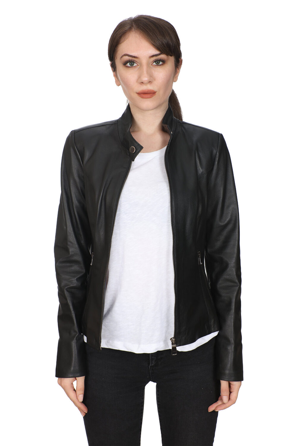 Buy Biker Leather Jackets For Women