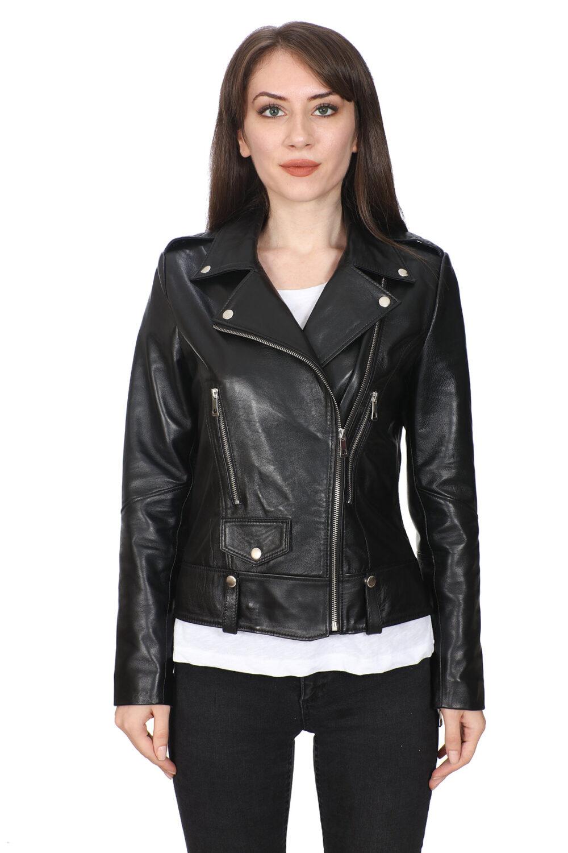 Dockers Leather Jacket Womens