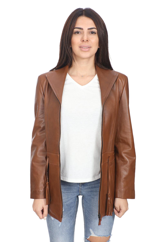Leather Jacket Female