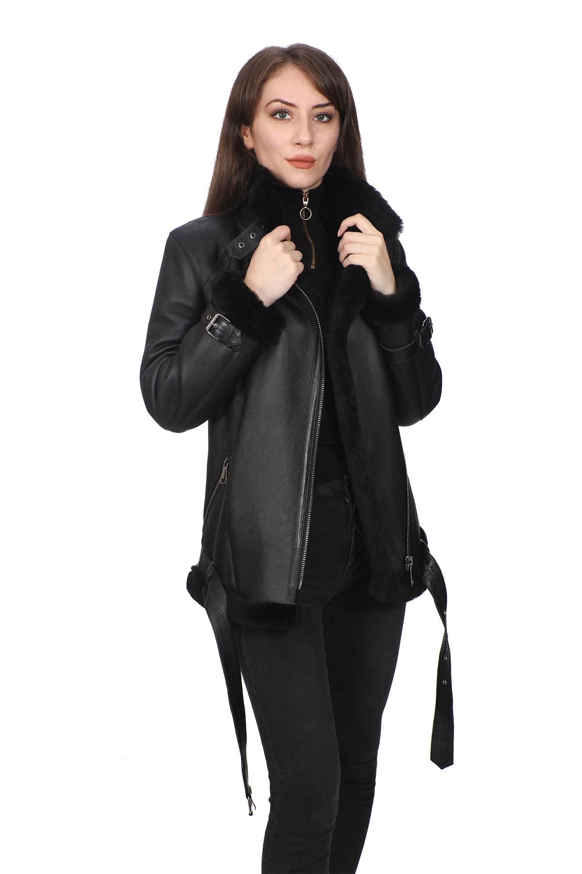 Real Leather Black Jacket