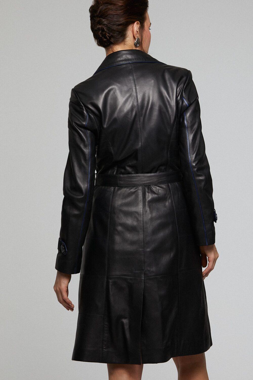 Cognac Leather Jacket Womens