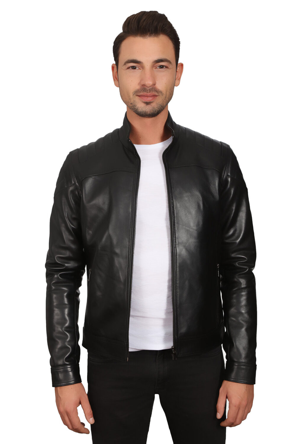 Cheap Mens Leather Jacket