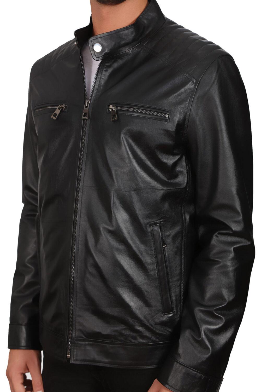 Acne Studios Leather Jacket Sale