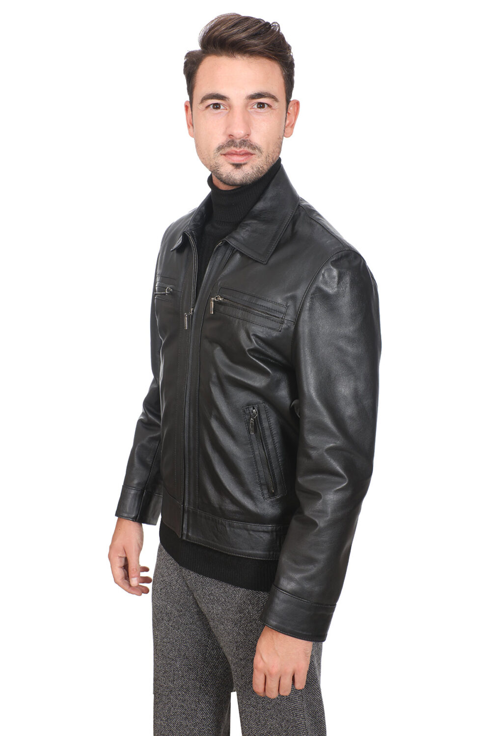 Cool Leather Jackets For Guys