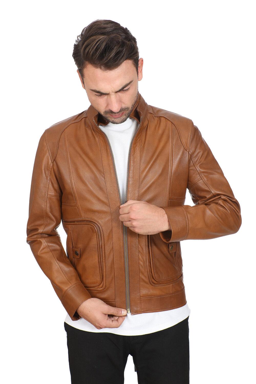 Buy Leather Jacket Mens