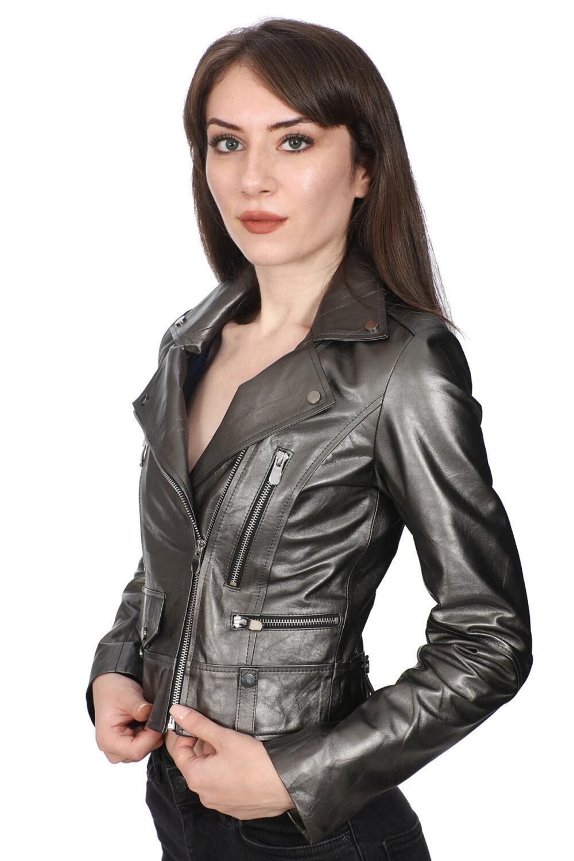 Fendi Leather Jacket Women's