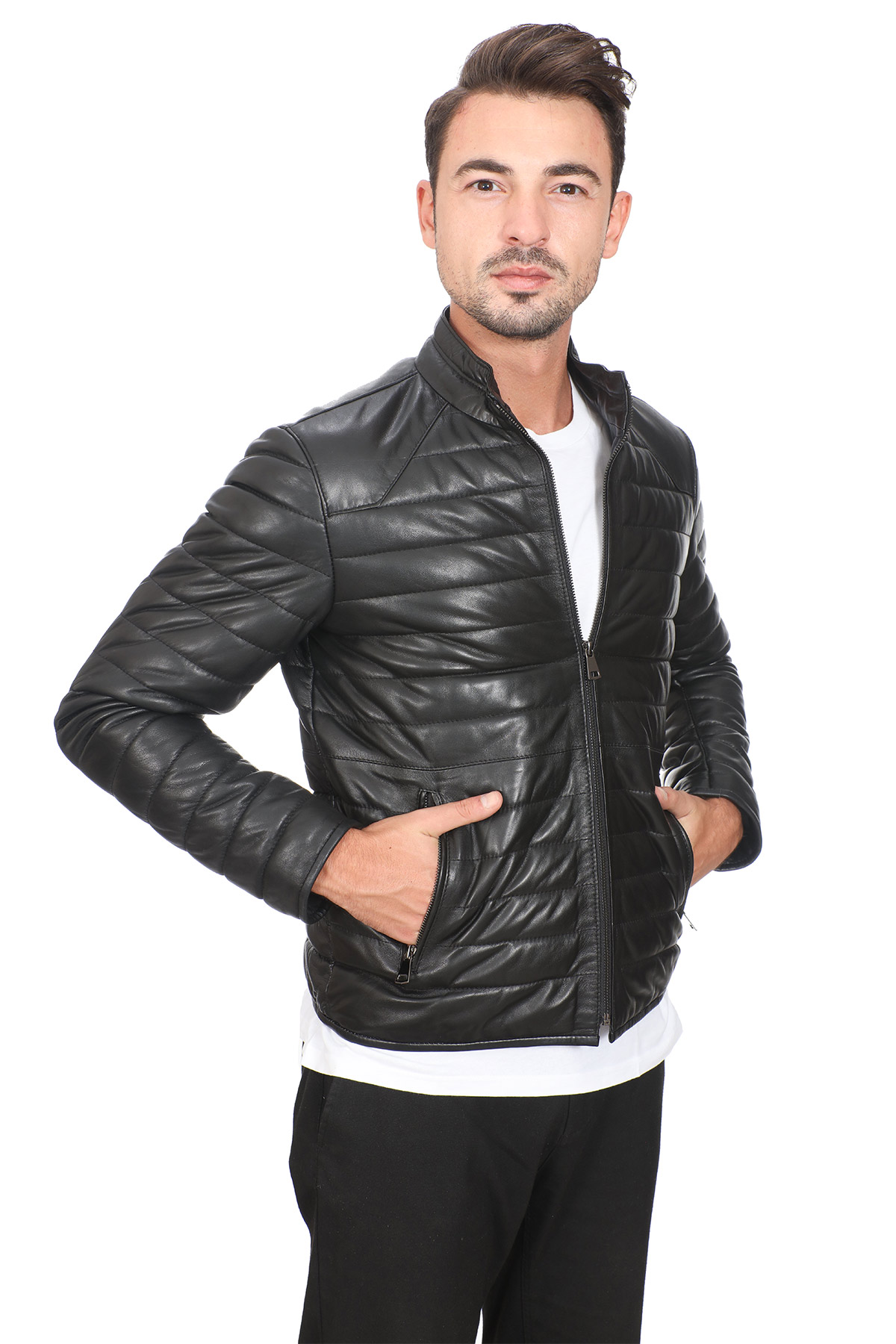 Cheap Mens Leather Jackets Online