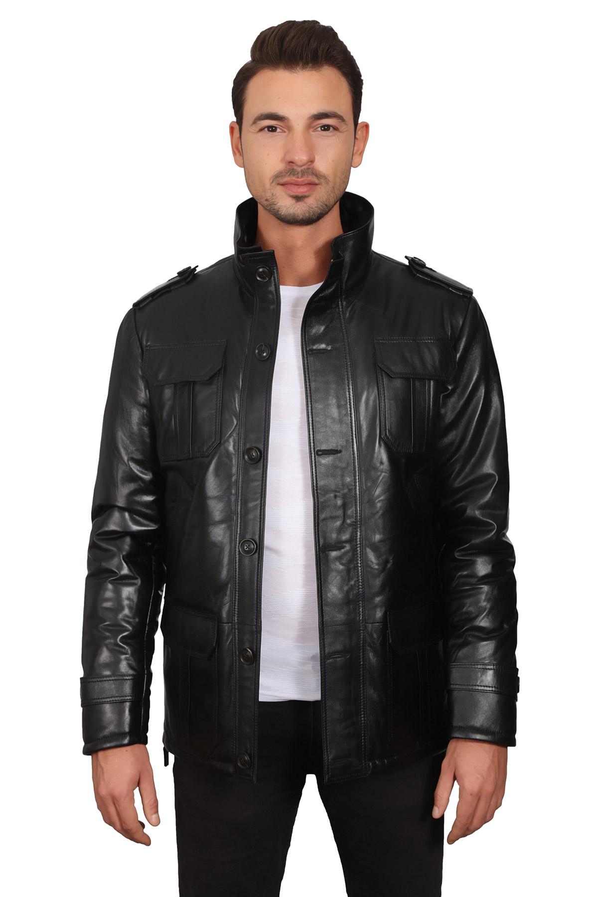 Asos Mens Leather Jacket