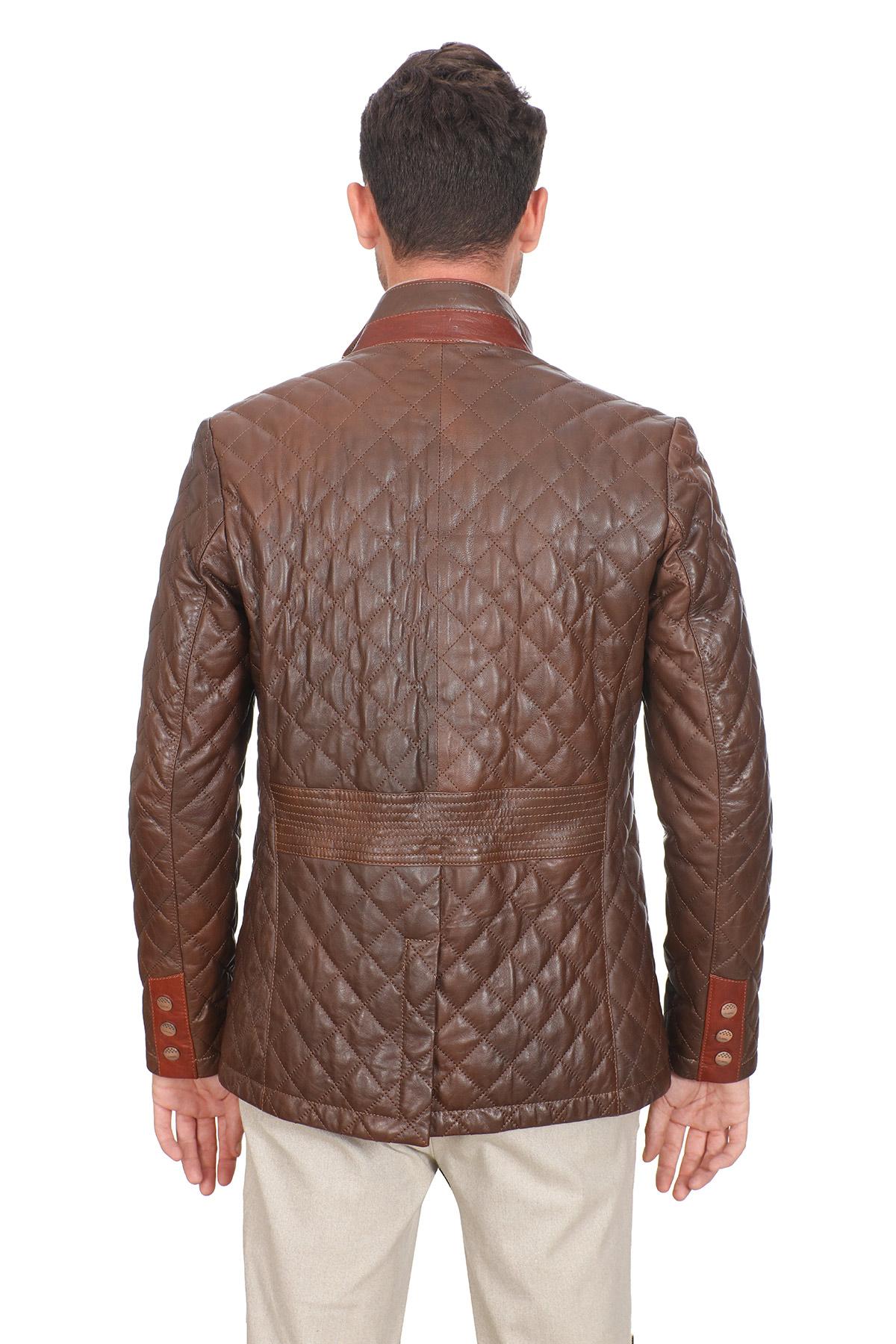 Fashion Leather Jacket Mens