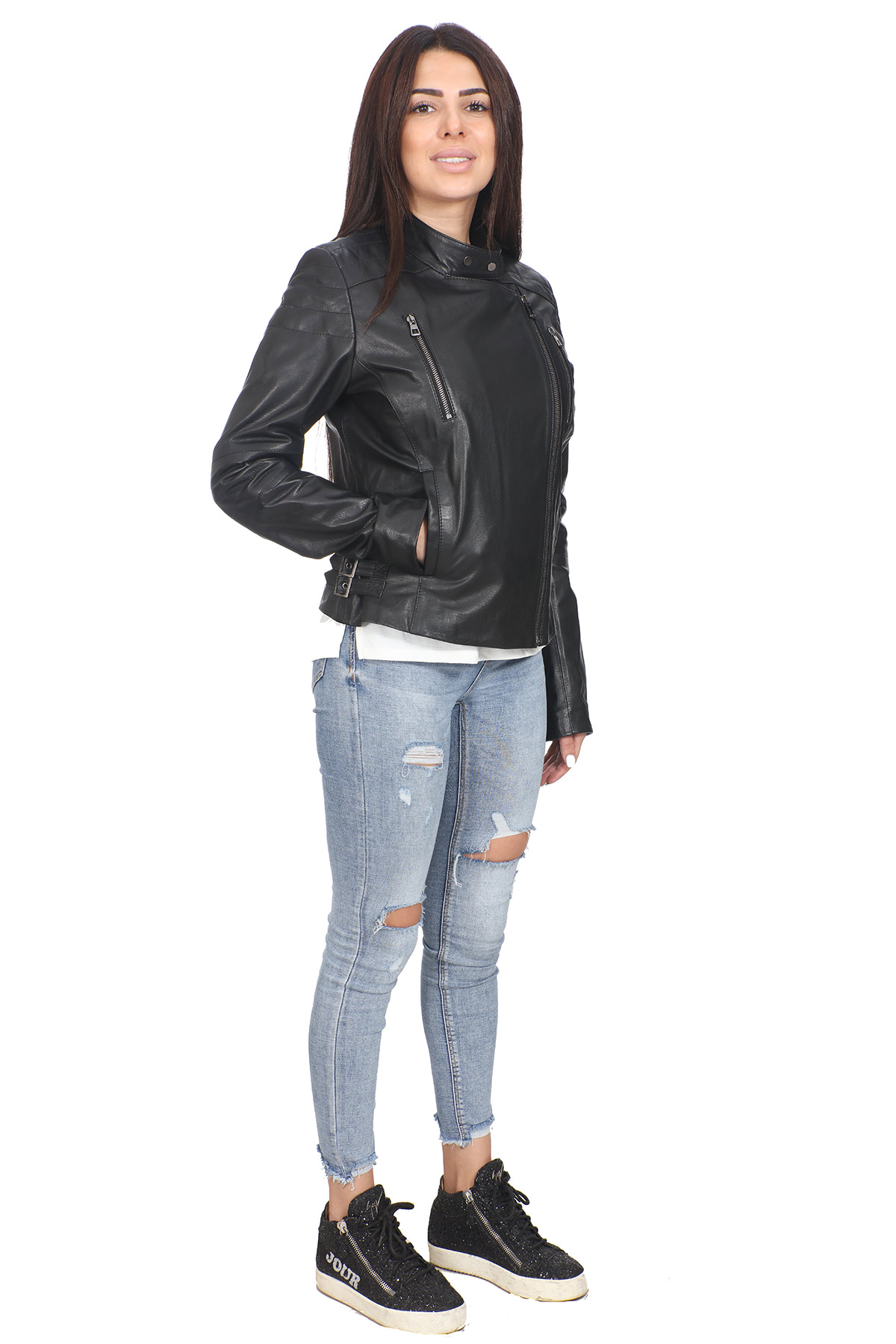 Womens Real Leather Jackets