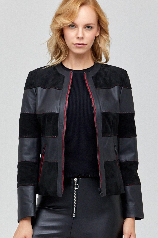 Real Leather Jacket Ladies