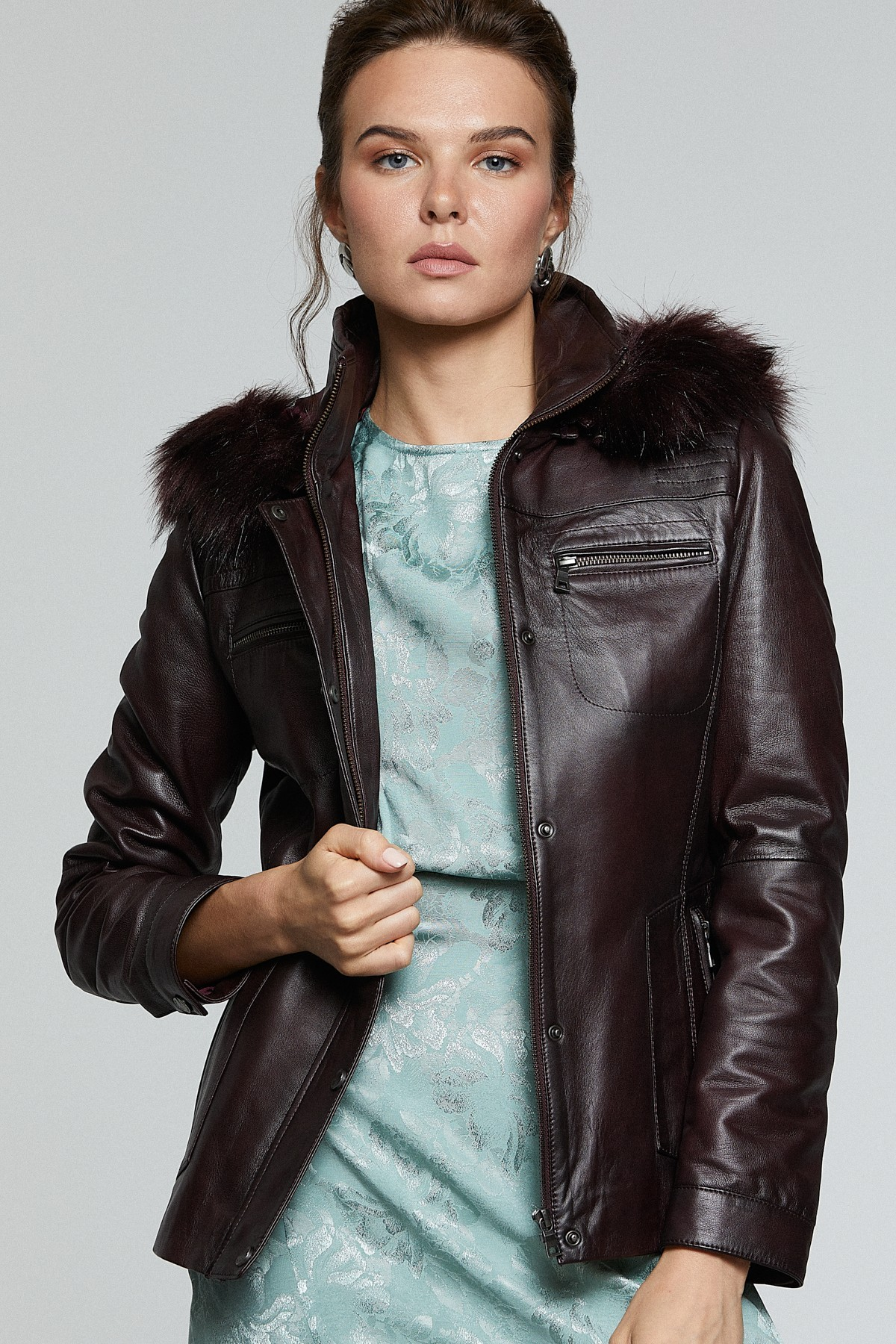 Cheap Colored Leather Jackets