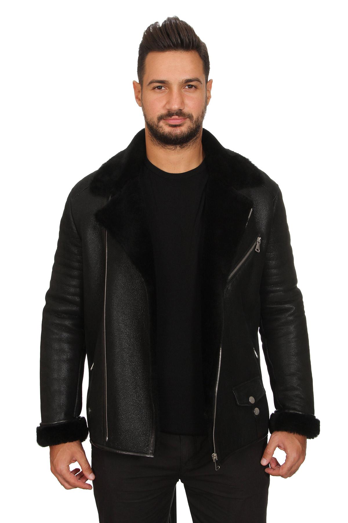 Aviator Jacket Mens Leather