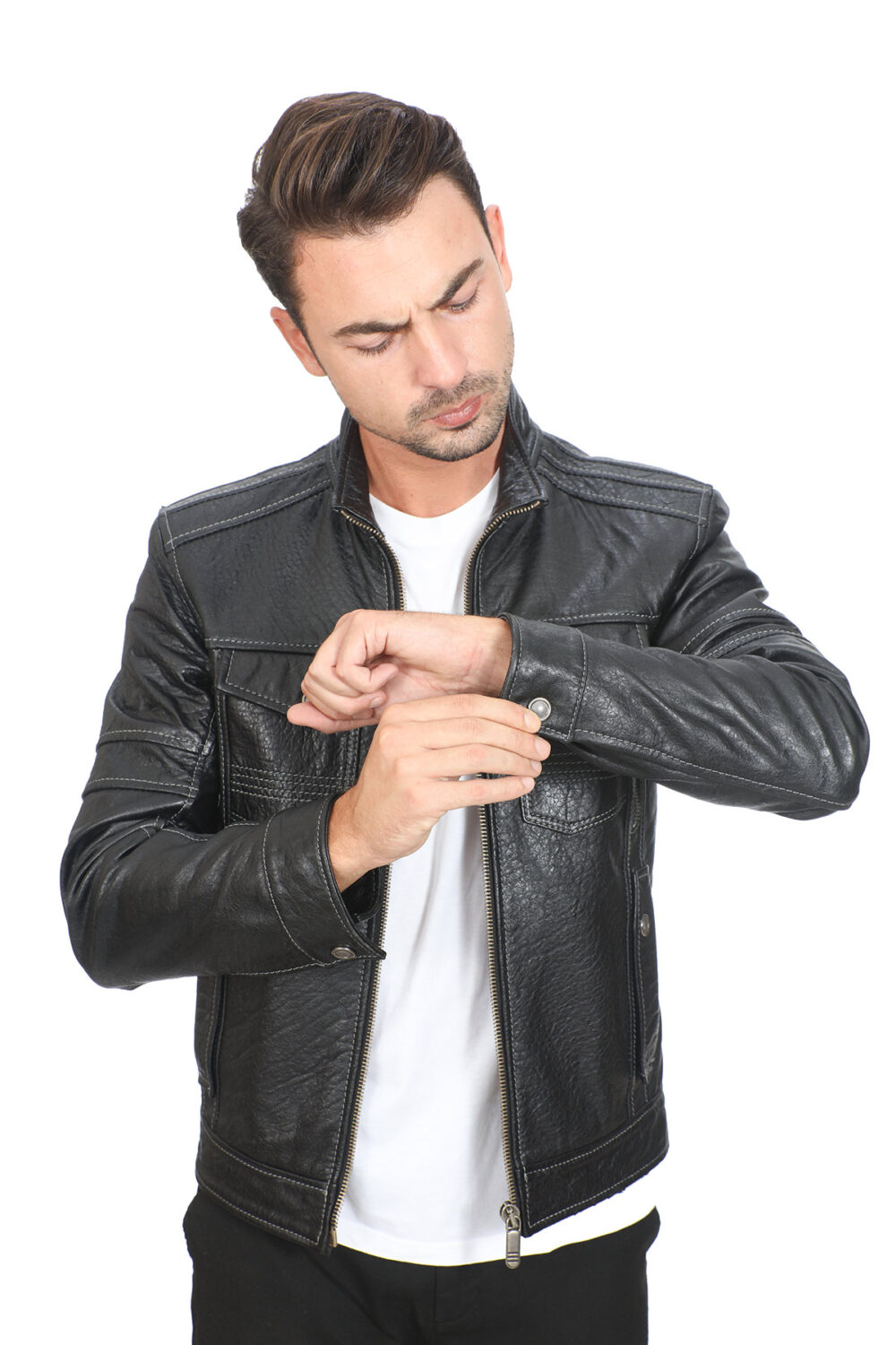 Cool Mens Leather Jackets