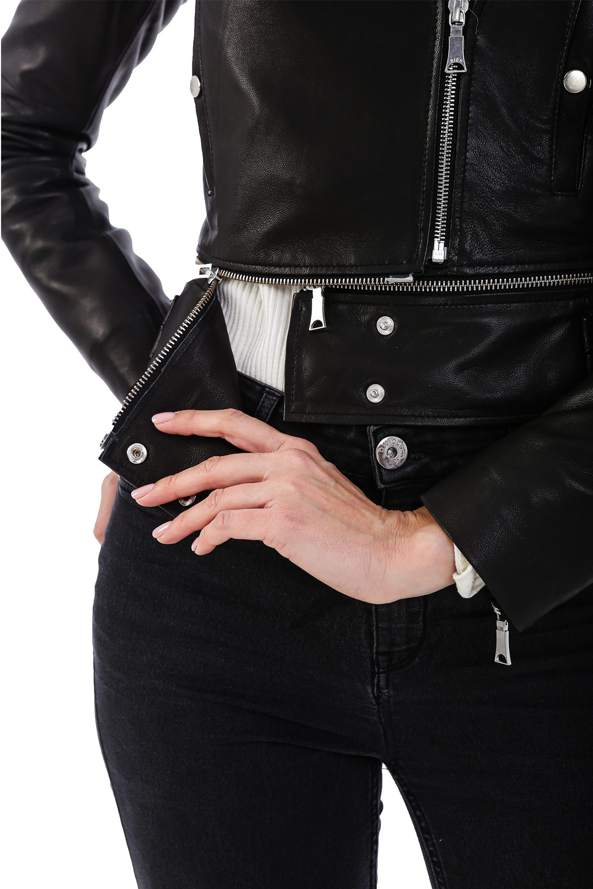 Real Leather Jackets Womens
