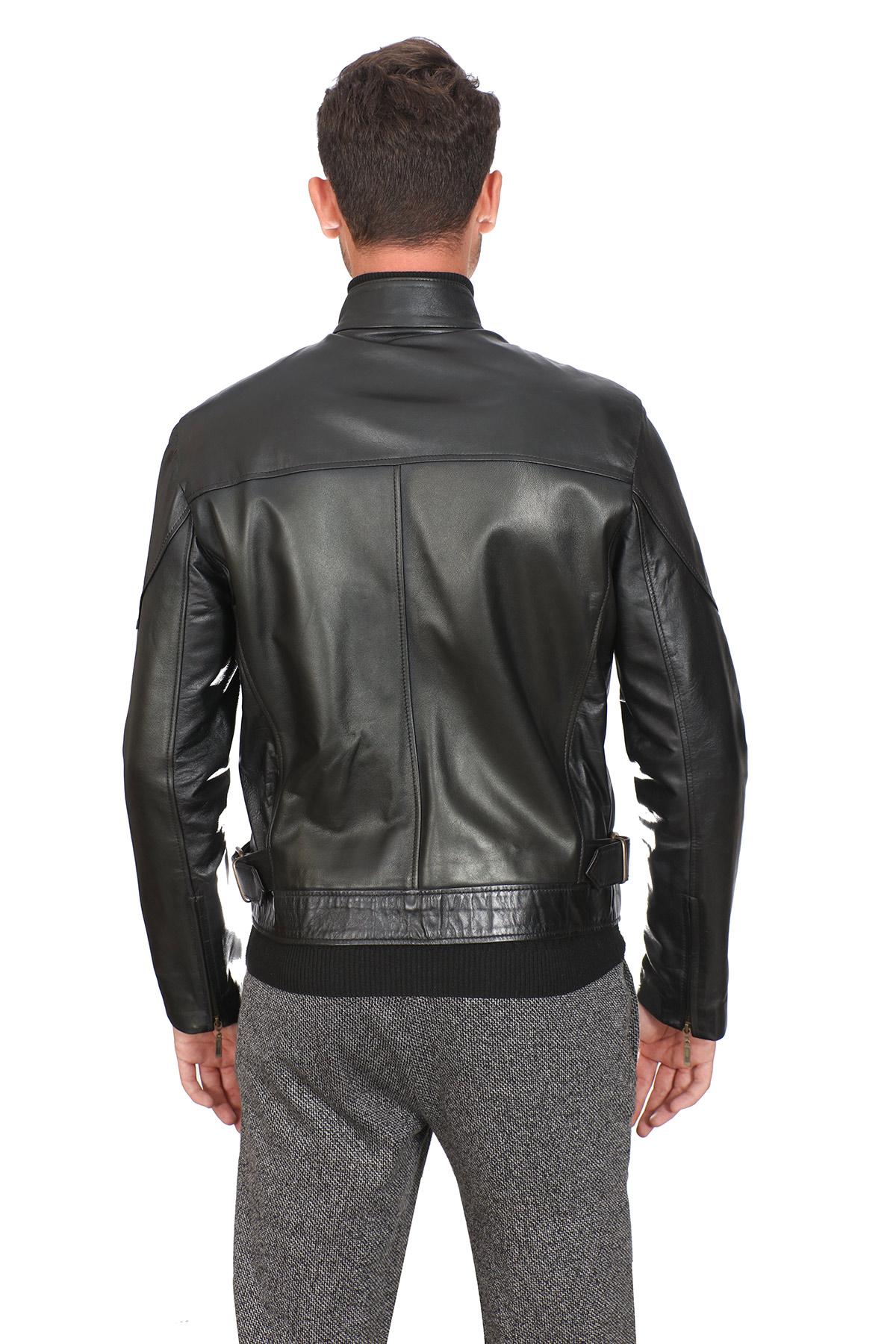 Nordstrom Leather Jacket Men's
