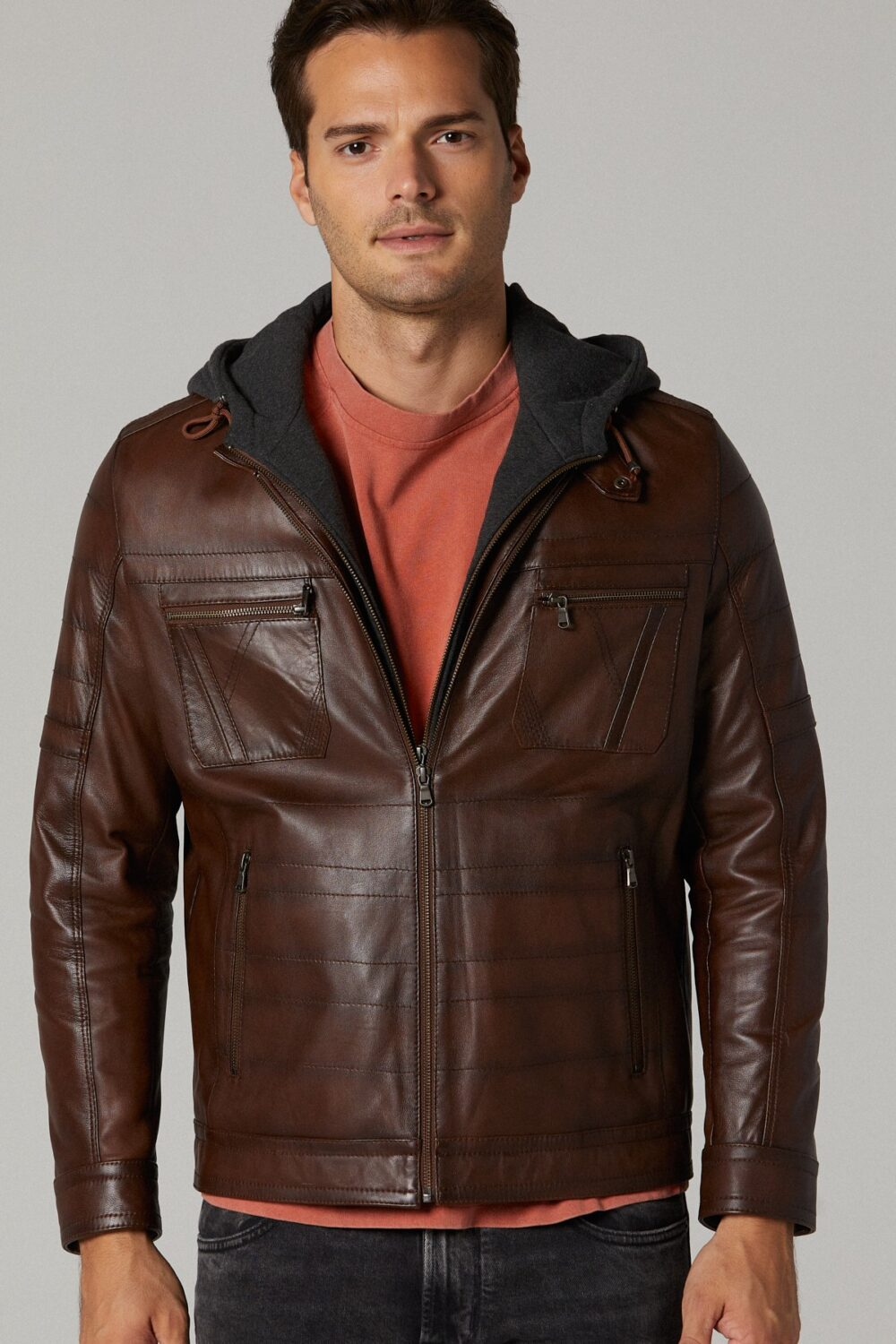 Calvin Klein Genuine Leather Jacket