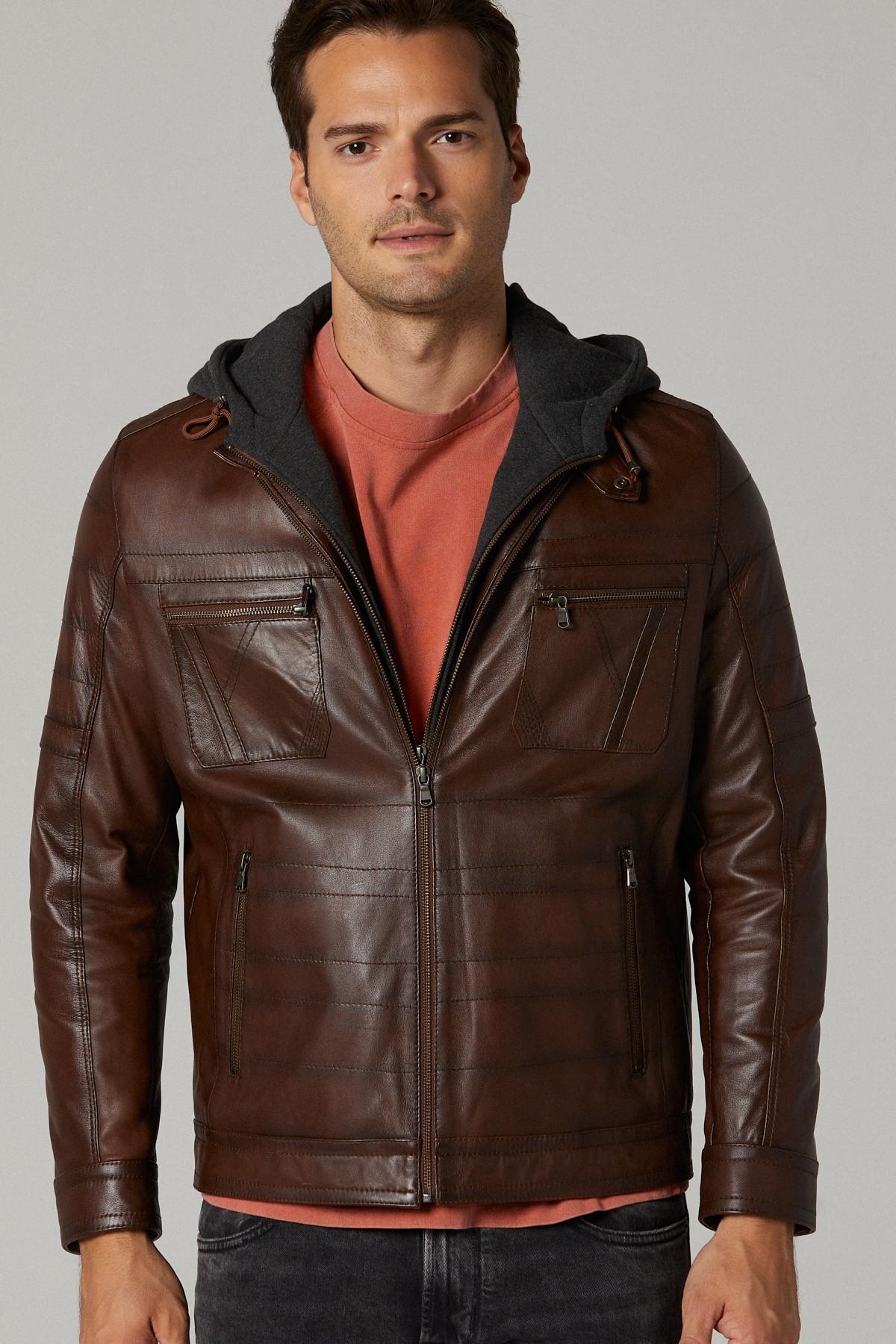 Calvin Klein Genuine Leather Jacket