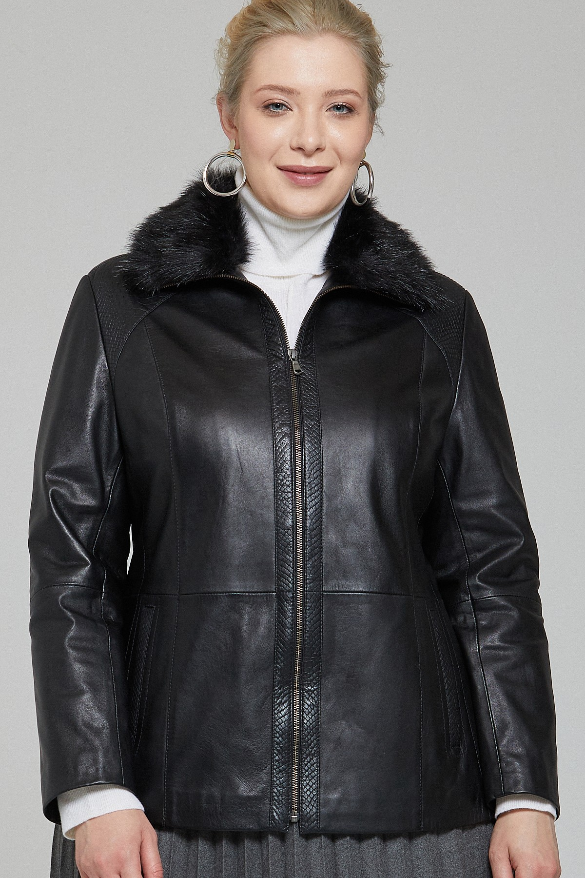 Leather Jackets With Fur