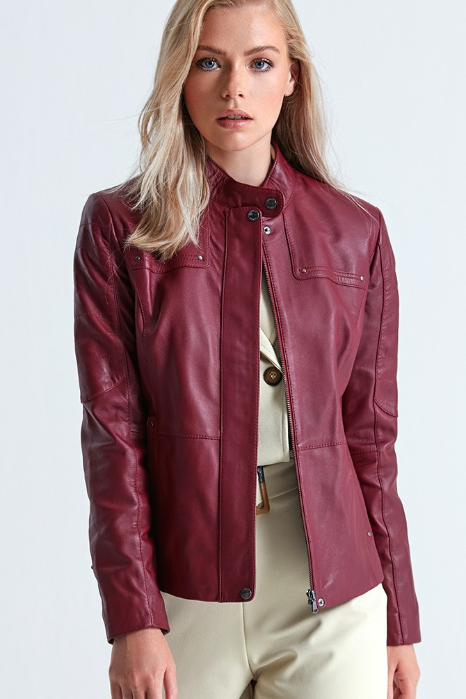Spanx Leather Jackets For Womens