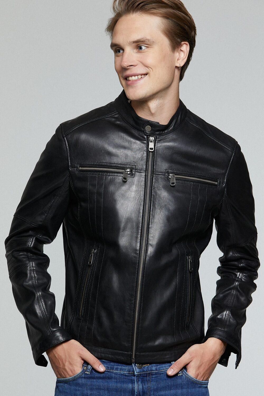 Olive Biker Jacket