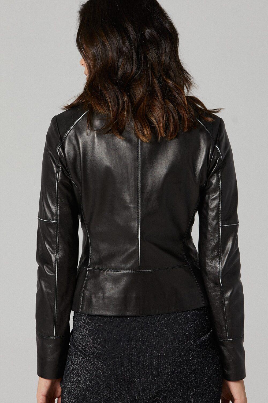 Girl Black Biker Jacket