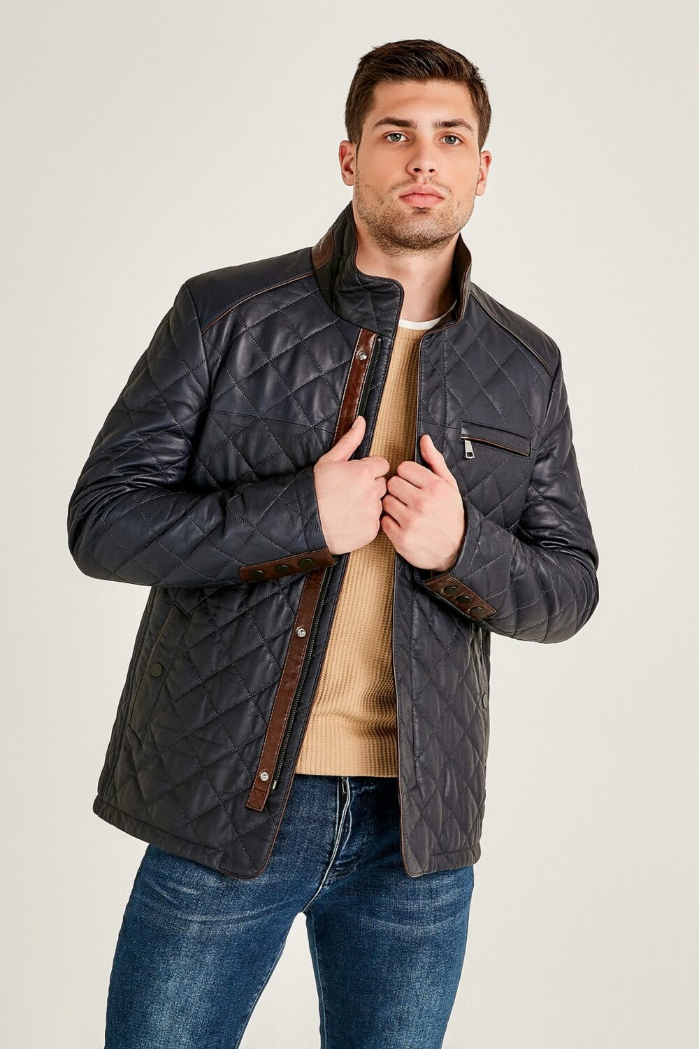 Leather Jacket Winter