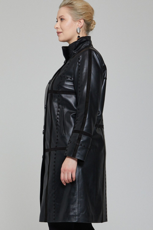 Universal Standard Black Trench Coat