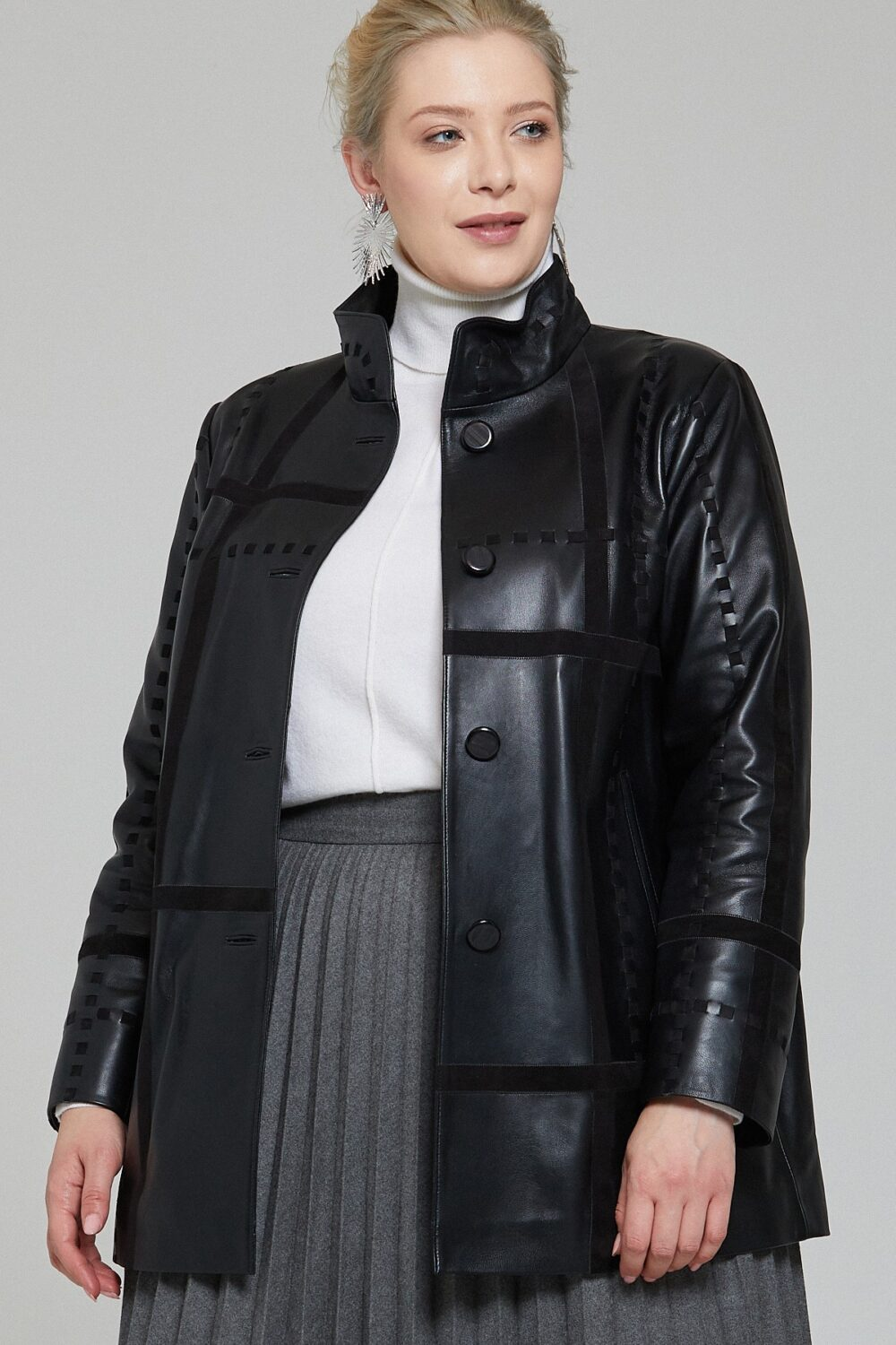 Reiss Womens Leather Jacket
