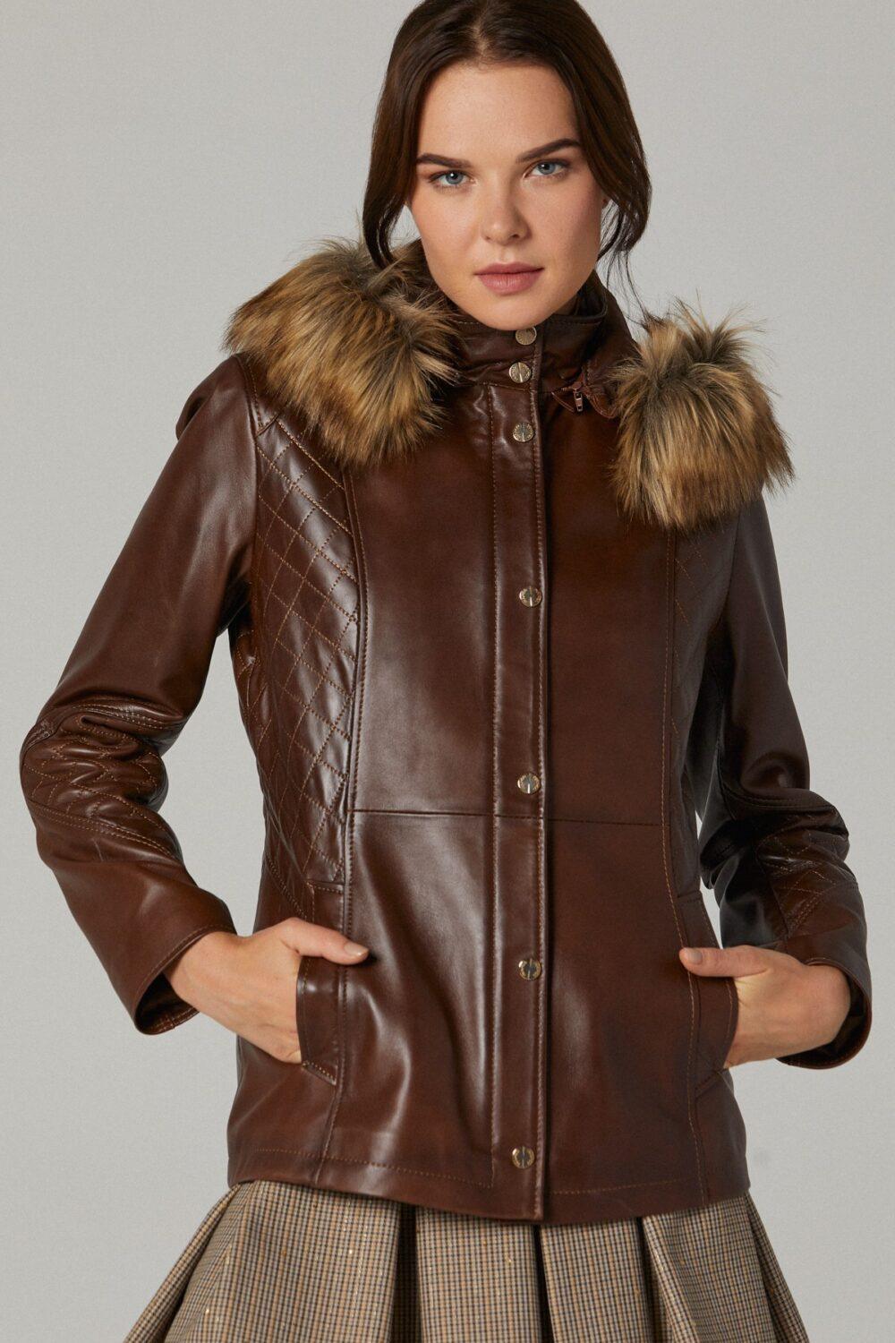 Spanx Leather Jackets