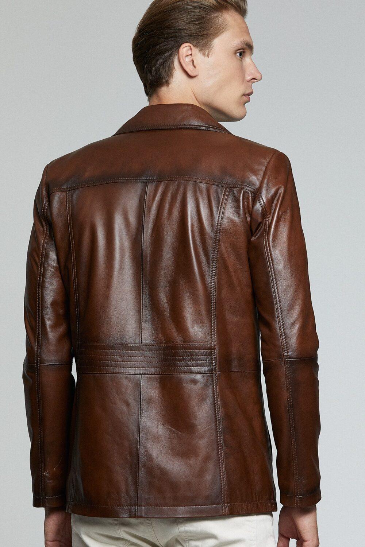 Topman Leather Jacket Alex Costa