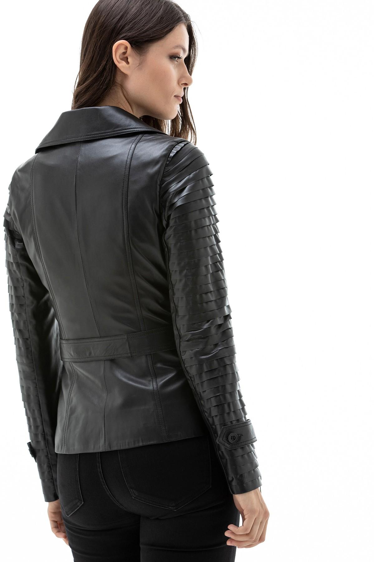 Burberry Leather Jacket Ladies