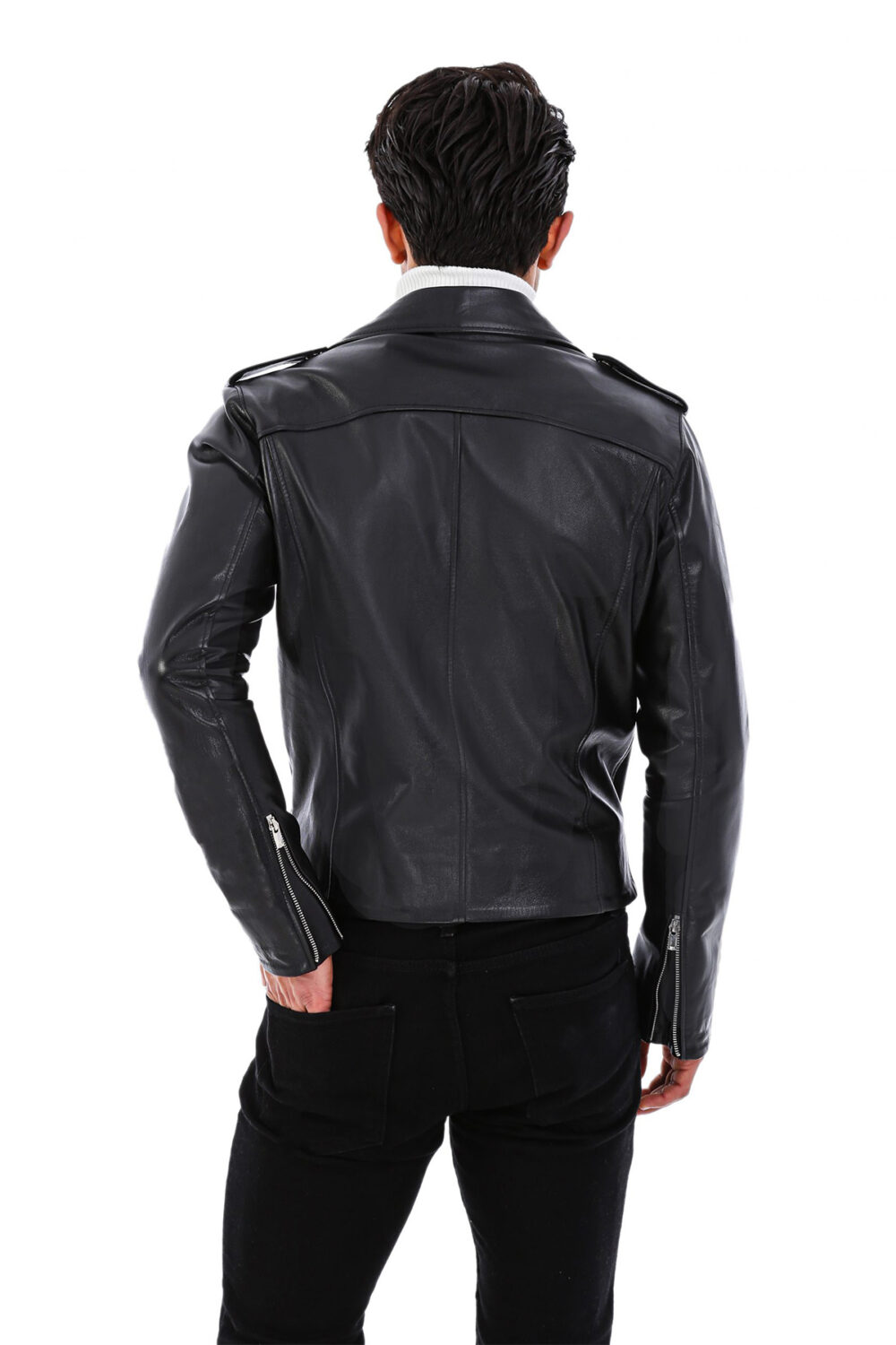 Real Leather Eagle Jacket